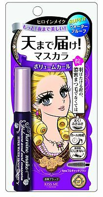Japan Isehan Mascara Kiss Me Heroine Make Volume and Curl Black 6g Waterproof