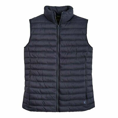 Joules Mens Go To Padded Gilet Marine Navy Various Sizes
