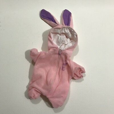 """Snoopy Peanuts Outfits Wardrobe Belle Easter Bunny fits 11"""" Belle 1985 Vintage"""