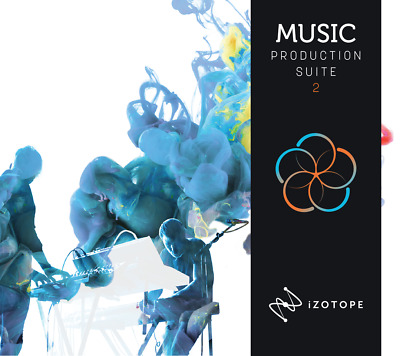 New Izotope Music Production Suite 2 with 30+ Music Production Plug-ins Mac/PC