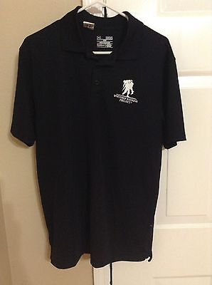 49f04c1a Men's Under Armour Wounded Warrior Project Short Sleeve Polo Shirt Size  Medium