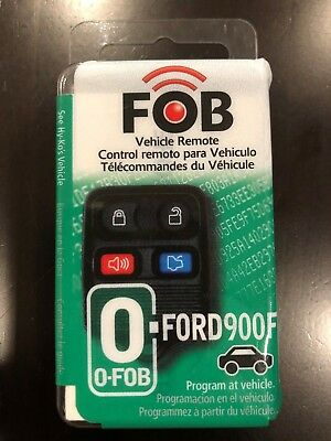 HY-KO FORD900F KEYLESS Entry Key Fob 4 Button for Ford