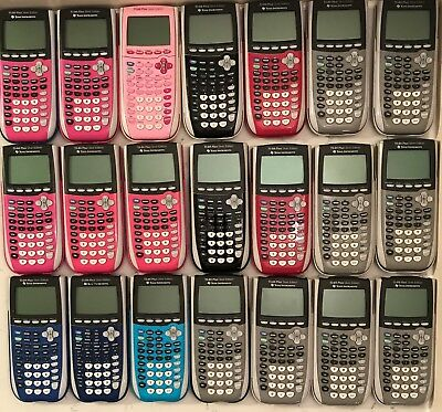Texas Instruments TI-84 Plus Silver Edition Graphing Calculators Multiple Variet