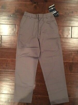 French Toast Gray/Grey Official School Wear Pants Size 14 Waist 26.5  NWT  NEW