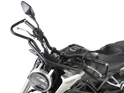 Honda CB 125 R ab Bj. 2018 Upper front protection bar Black BY HEPCO AND BECKER