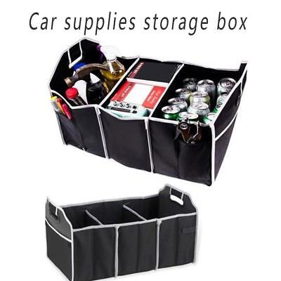 Car Boot Organiser Tidy Travel Shopping Heavy Duty Collapsible Foldable Storage