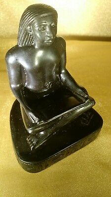Ancient Egyptian Scribe, Statue