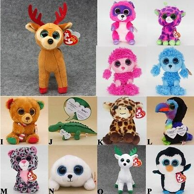 250b18018d7 Ty Beanie Boo Boos-Choose Your Favourite Soft Plush Kids Toy - 6