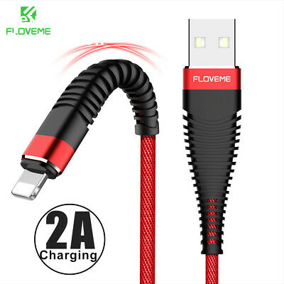 1M 2M FAST USB Data Charging Cable Charger cord for Apple iPhone 8 7 6S 5 iPad