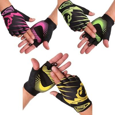 Half Finger Gloves Fitness Exercise Workout Training Cycling Outdoors Gym Wear