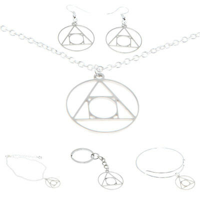 Philosopher's Stone Alchemy Hermetic Seal of Light Necklace Bangle Kerying
