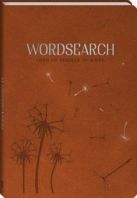 NEW Wordsearch Faux Leather Bound Book Over 130 Brainteaser Puzzles to Solve!