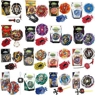 2018 Beyblade Burst Bayblade with Launcher Set Bey Blade Metal Top Kids Toy Gift