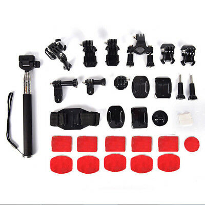 Action Camera Accessories For GoPro Hero Video Cam Strap Mount Tripod