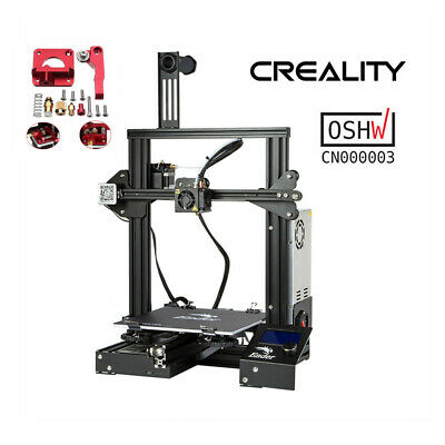CREALITY ENDER 3 3D Printer 220X220X250MM + Upgrade Extruder Drive Feed  Frame
