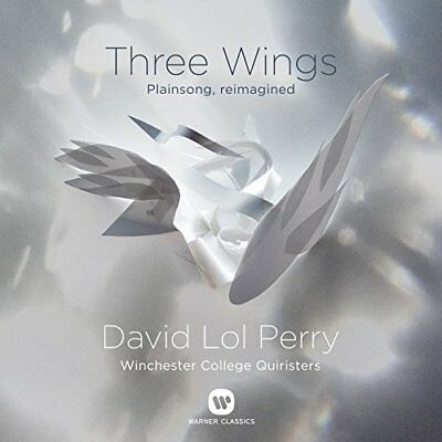 David Lol Perry - Three Wings  Plainsong reimagined [CD]