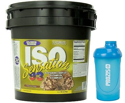 ISO SENSATION 93 2,270 Kg Ultimate Nutrition  Proteine Siero Whey Isolate