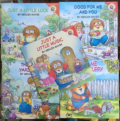 Lot of 5 Little Critter: Puppy, Yard Sale, Luck, Good For Me, Music VGC PB