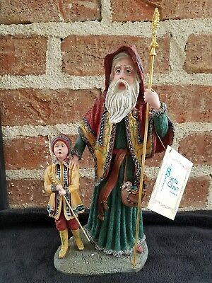 "12""  Duncan Royale Poland Star Man Limited Numbered Figure History Of Santa Iii"