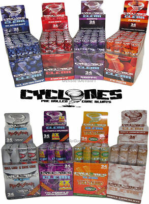 Cyclones Clear  Pre Rolled Transparent Flavoured Cones Various Flavours-quantity