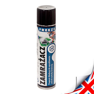 300ml  FREEZE SPRAY QUICK RELEASE AEROSOL -55 DEGREES