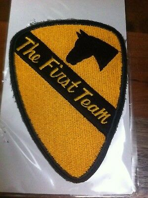 Vintage Vietnam Us Army Patch 1St Air Cavalry Division 7 Original And Beautiful
