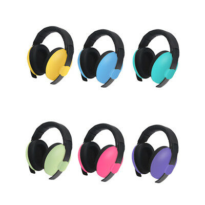 Baby Noise Reduction Headphones Kids Ear Muffs Loud Cancelling Hearing Safety uk