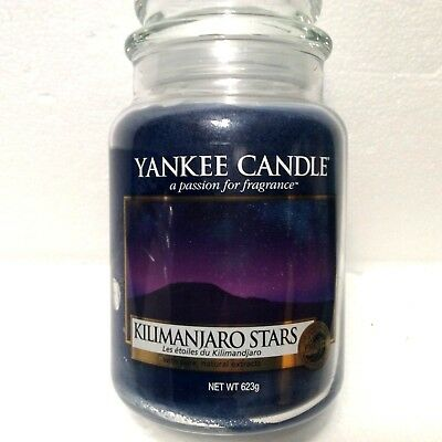 Yankee Candle 22 oz 623g Kilimanjaro Stars from the Fresh Collection NEW