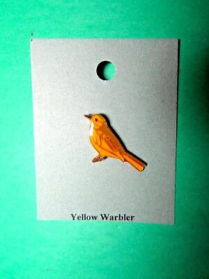 Natures Charms Yellow Warbler Lapel Hat Pin (61)