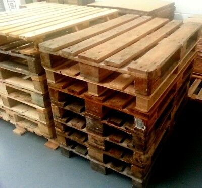 Wooden EU Standard Pallet Used Ideal for Log Fire or Log Furniture Hand Craft