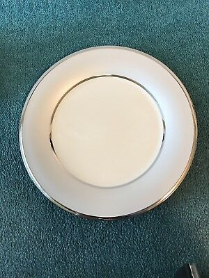 """Lenox China Ivory Frost Pattern Dinner Plate 10 3/4"""" - NEW"""