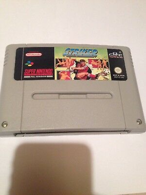 STRIKER SUPER Nintendo SNES Game PAL - £0 99 | PicClick UK