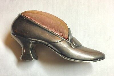 Gorham Sterling Silver Shoe Pin Cushion