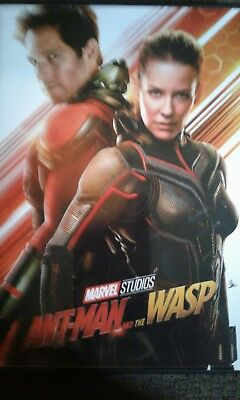 ANT-MAN and the WASP. DVD NEW 2018  plus one