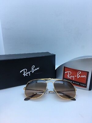 9467b0e7a650c Ray Ban New Sunglasses GENERAL Copper Pink Brown Gradient RB3561 9001A5 57  145