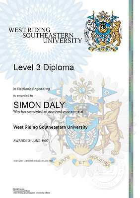 Best Fake Novelty Certificates Transcripts Diplomas Degrees Gift Personalised