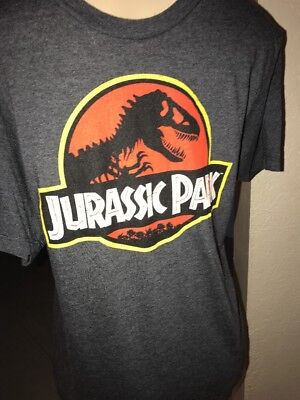Jurassic Park Movie LOGO Licensed Adult T-Shirt  MED TSB