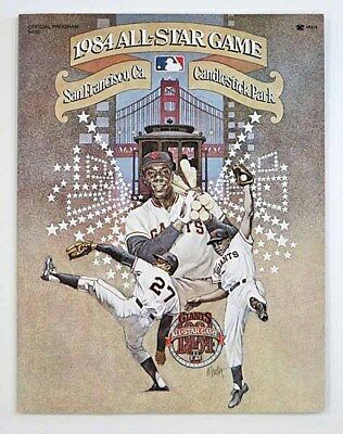 Baseball Official Program / 1984 ALL STAR GAME  San Francisco Ca  Candlestick