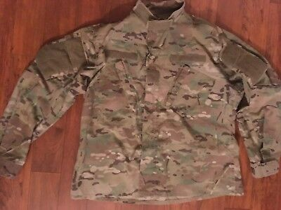 US Army OCP Multicam Uniform Top FRACU GI Issue Insect Treated - Large Regular