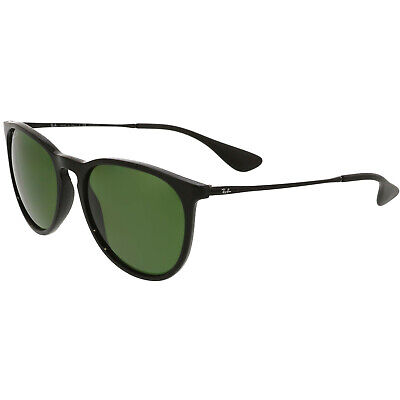 Ray-Ban Women's Polarized RB4171-601/2P-54 Black Round Sunglasses