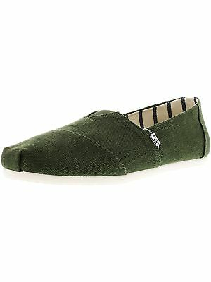 Toms Men's Classic Heritage Canvas Ankle-High Slip-On Shoes