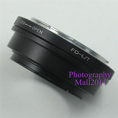 FD-L/T Adapter For Canon FD Mount Lens To Leica LT/SL Type 701 Mirrorless Camera