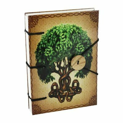 Hard Cover Journal With Tree Of Life Design - Note Pad / Sketch Pad / Book