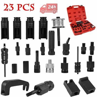 23pc Injection Injector Puller Set Common Rail Adaptor Diesel Injectors Tool Kit