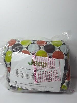 Jeep Shopping Cart or High Chair Cover - Super Comfy - New