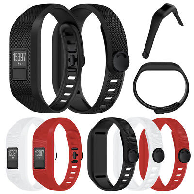 NEW Silicone Replacement Strap Wristbands For Garmin Vivofit 3 Watch Bracelet