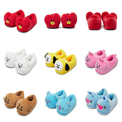 Official BT21 Plush Indoor Slipper Doll 220 ~ 240 mm KPOP Bangtan Boys BTS Goods