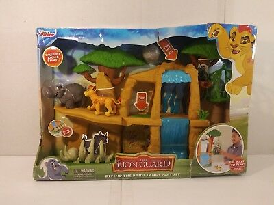 Disney Junior The Lion Guard Defend The Pride Lands Play Set BNIP NEW Lion King