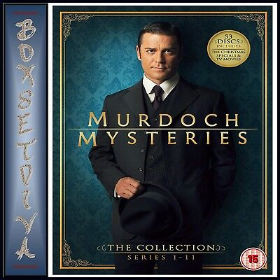 Murdoch Mysteries The Collection - Complete Series 1 - 11** Brand New Dvd Boxset