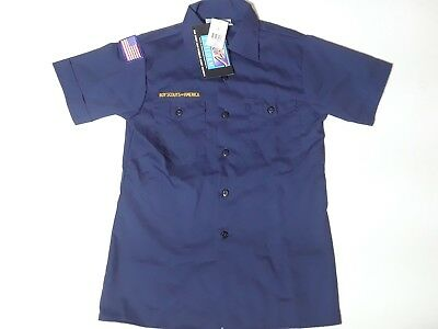 Official Boy Scout of America CUB SCOUTS Youth Short Sleeve Uniform Shirt Large
